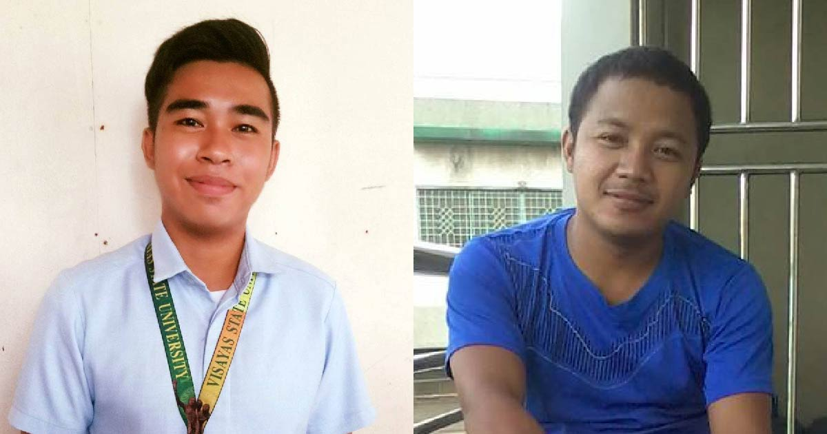 HEAD-ON COLLISION. Daryl Salidaga (left) died, while Esteban Jandoc (right) is in critical condition after their motorcycle crashed with truck in Ormoc City. Photos from their Facebook accounts.